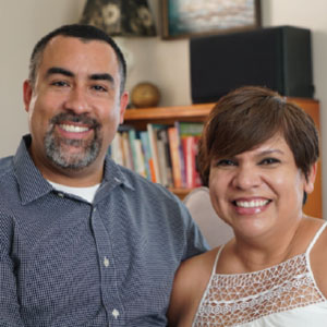 Marvin Villanueva and Gabriela Chavira